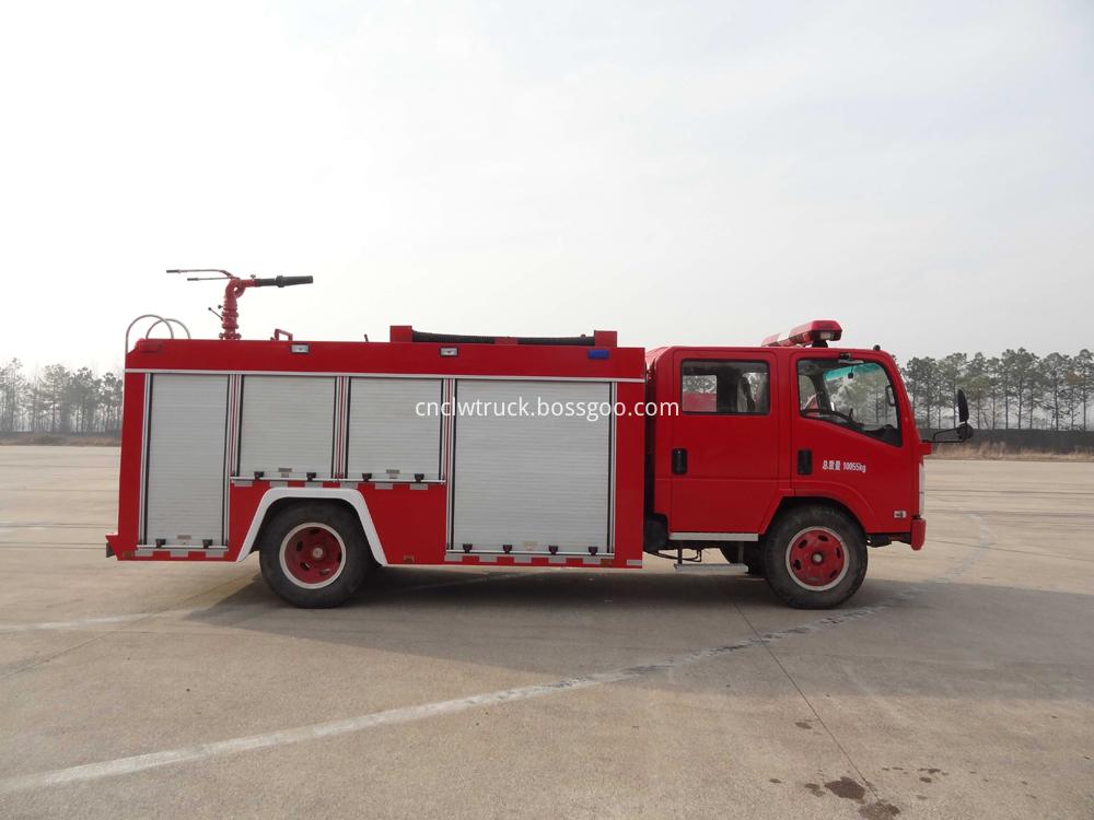 fire fighting foam truck 4