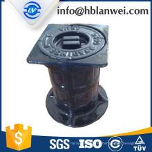 caja de válvula de hierro fundido