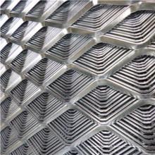 Malla metálica expandida de diferentes agujeros