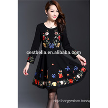 High Quality Cotton Polyester Trendy long sleeve Elegant sweater designs for ladies