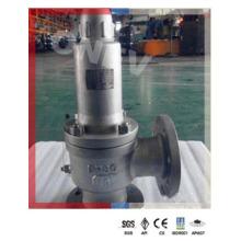 CF8m / CF8 Válvula de segurança com flange de aço inoxidável para gás