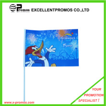 Cheap Custom Colorful Printed Paper Hand Held Flags (EP-PF8141)
