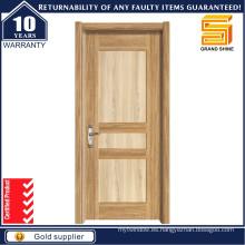 Puerta de madera de madera sólida de la habitación interior