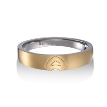 Boys Rings Fashion Tungsten 18K Diamond Wedding Ring