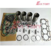 SHIBAURA piezas del motor pistón N843 anillo de pistón