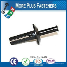 Made in Taiwan Drive Rivet Chasser Aluminum Rivets with Stainless or Aluminum Pins Universal Head