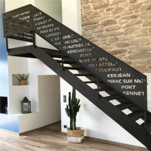 Custom Metal Stair Railings