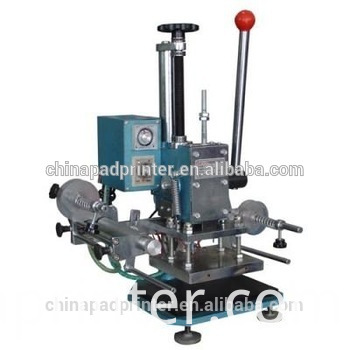 Manual embossing machinery