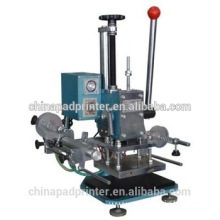 Manual plane hot stamping machine