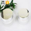15g 30g 50g kosmetische runde Form Acrylglas mit Aluminiumkappe