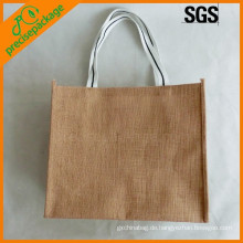 Umweltfreundliche wiederverwendbare Jute Verpackung Einkaufstasche