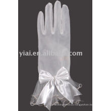 2013 Wrist Length Bow Bridal Glove With Fingers 009