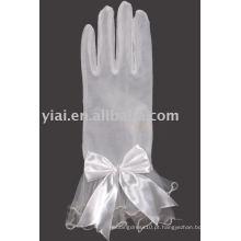 Luva de noiva do arco do comprimento do pulso 2013 com dedos 009
