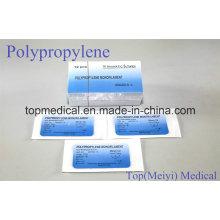 Chirurgische Naht - Polypropylen Monofile Chirurgische Naht mit Nadel