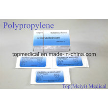 Surgical Suture - Polypropylene Monofilament Surgical Suture with Needle
