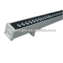 LED RGB 108W luz de lavagem de parede 36X3W washer stage Bar Linear Lâmpadas de poupança ao ar livre