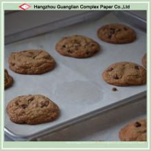 Feuilles de papier de cuisson en silicone pour boulangerie et cuisine