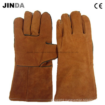 Protective Welding Leather Work Gloves (L008)