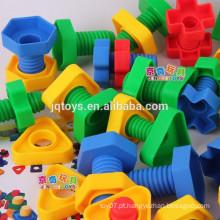 Parafuso jogos blocos para crianças DIY