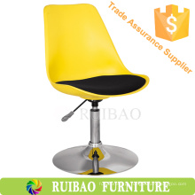 2016 Altura ajustável Alça giratória Banco de plástico Cadeira giratória da indústria de plásticos