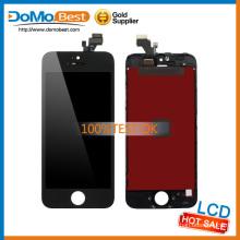 Оригинальные достаточных запасов прозрачной ЖК-дисплей для iPhone 5 Замена ЖК-экран, lcd, мониторы для iphone 5