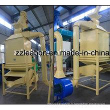 Séchoir de refroidisseur de granule d'alimentation de machine de refroidissement de granule en bois