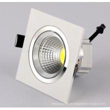 3W / 5W / 7W / 9W / 12W LED COB Downlight für Wohnzimmer