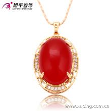 32388 Xuping fábrica por atacado na China Moda Jóias 18 k Pingente Banhado A Ouro para as mulheres