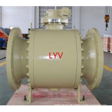 16 Zoll hohe Qualität niedrigen Preis pneumatische Kugelhahn für Öl und Wasseraufbereitung