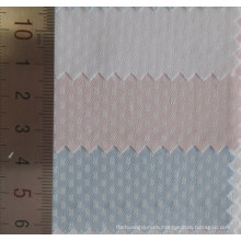 Erhöhten längliche Muster Baumwollstoff Dobby Shirt