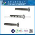 Taiwan Qualität M1.0-6.0 DIN964 Edelstahl Phillips Antrieb Oval Kopf Maschine Schraube