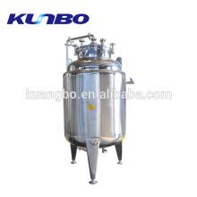 Réservoir de stockage d'eau en acier inoxydable de 75 gallons