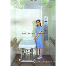 Elevador de cama grande espaço para hospital
