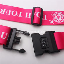 Luggage Lockable Name Straps Luggage Belt Strap