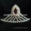 fashion metal silver plated crystal headband bridal hair accessories