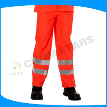 100% poliéster 300D oxford en471 pantalones reflectantes para la seguridad