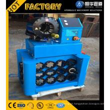 Máquina de friso da mangueira automática do ISO do Ce com a ferramenta rápida da mudança