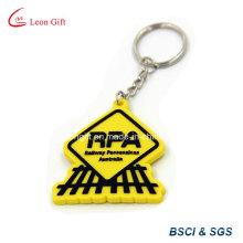 RPA Keychain macia do PVC / borracha Keyring atacado