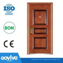 Diseño popular en el mercado Irán diseño de puerta de seguridad, diseños de puerta de hierro de seguridad