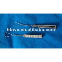 Weichuang stainless steel drop cable wire clamp