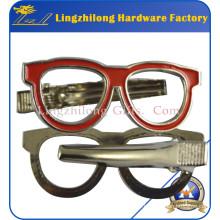 Pince à cravate en métal Sunglass Pince à cravate