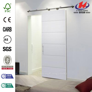 MDF Soundproof Interior Sliding Barn Doors