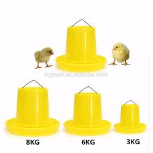 Batedor de frangos de plástico para aves de capoeira (quente e por atacado)