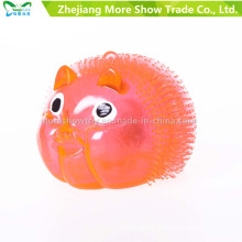 Novelty Colorful Puffer Yoyo Piggy Toys Light up Ball