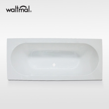 Cuci Acrylic Drop-in Bath Tub di White