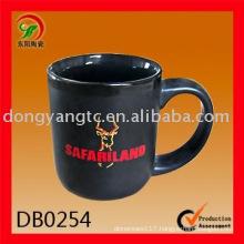 Factory direct wholesale 18oz ceramic black mug