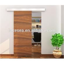 Herraje de puerta corredera de madera / Elegantes orillas de puerta de granero / Accesorios de puerta corredera de aluminio (LS-RS 004)