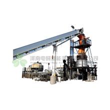 Sistema de gasificación de biomasa de biomasa de protección del medio ambiente