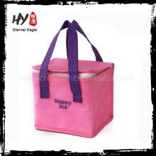 Bolsa aislante reciclable de la comida campestre, bolso más fresco no tejido del polipropileno, bolso de la caja del almuerzo