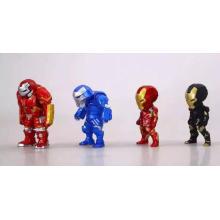 Kundenspezifische Mini Jointed Action Figur Puppe Kinder Lernen Plastik Spielzeug